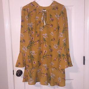 Target Keyhole Floral Dress